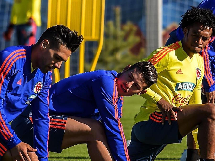 Colombia entrenamiento