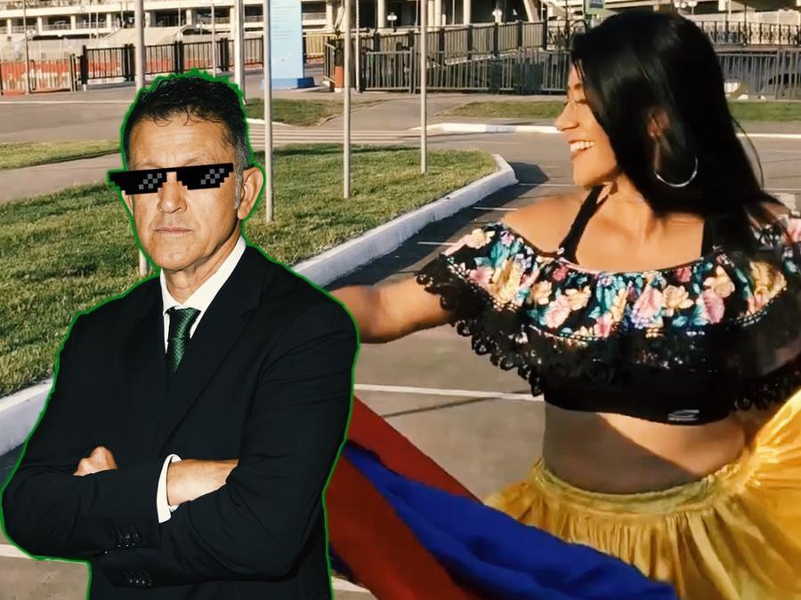 Fan colombiana