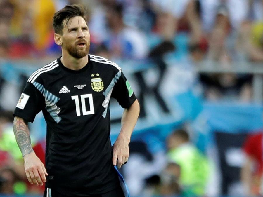 El partido de Messi vs Islandia