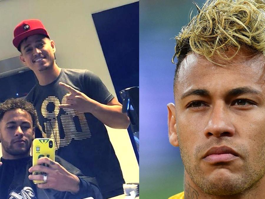 Peluquero Neymar