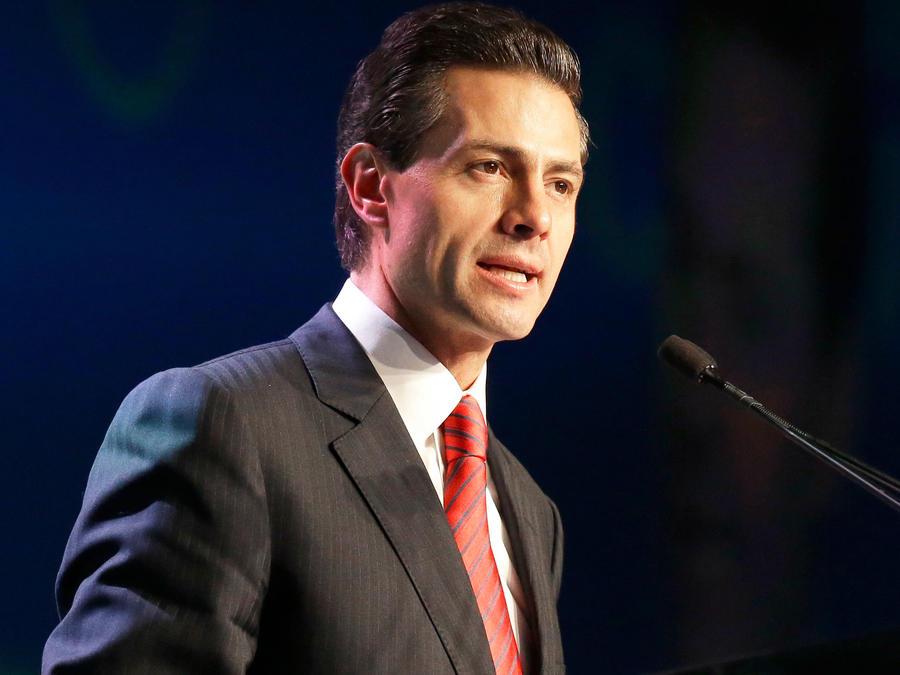 Presidente de México, Enrique Peña Nieto, en una imagen de archivo