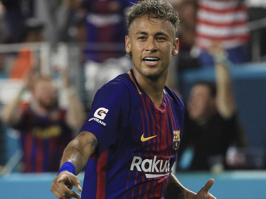 Neymar Jr. en el Barcelona