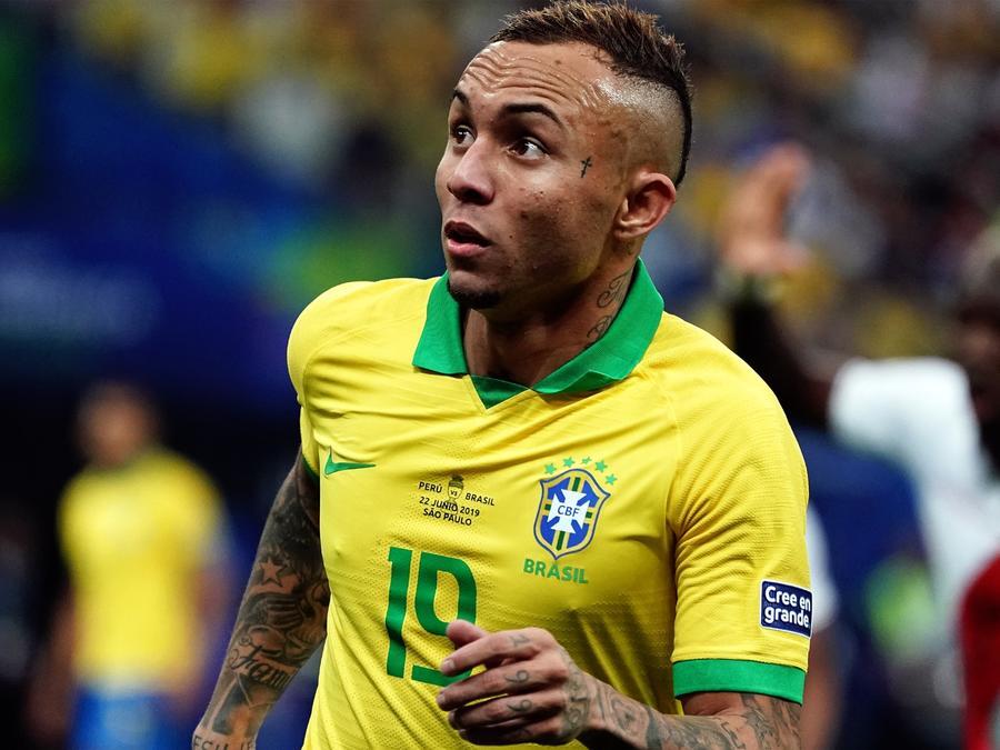 Everton en la Selección de Brasil