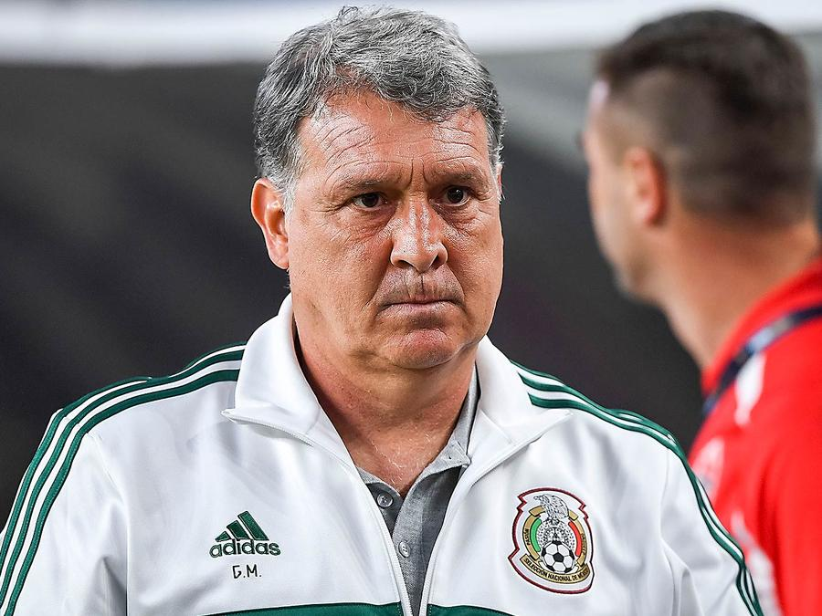 Gerardo Martino en la Selección de México