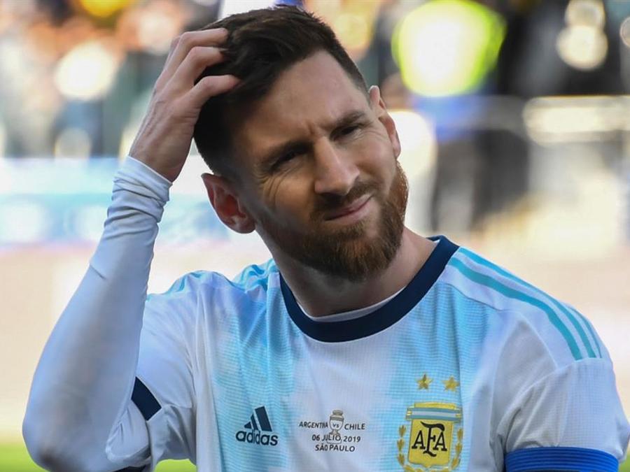 Lionel Messi en la Selección de Argentina