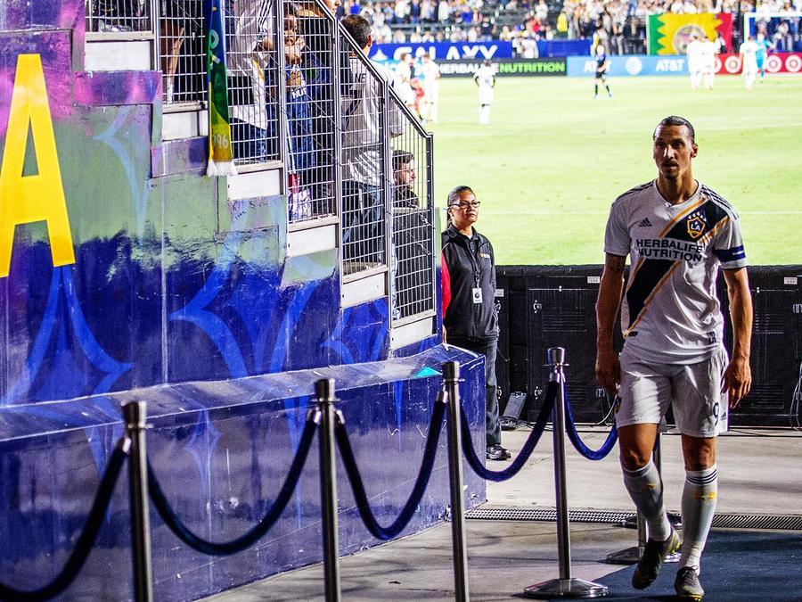 Zlatan Ibrahimovic en Los Angeles Galaxy