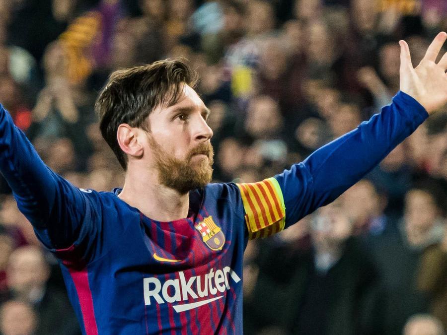 Lionel Messi en Barcelona