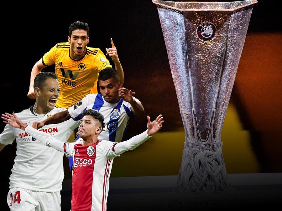Futbolistas mexicanos en la Europa League