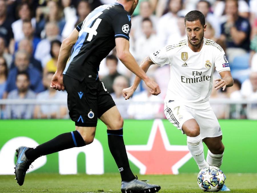 Eden Hazard en Real Madrid