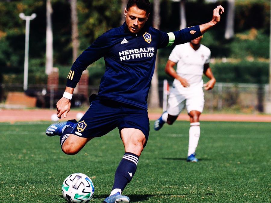 Chicharito Hernández en LA Galaxy