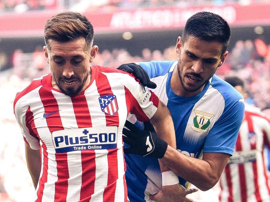 Héctor Herrera en el Atlético de Madrid