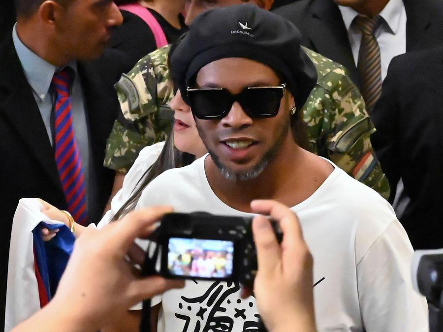 Ronaldinho en Paraguay