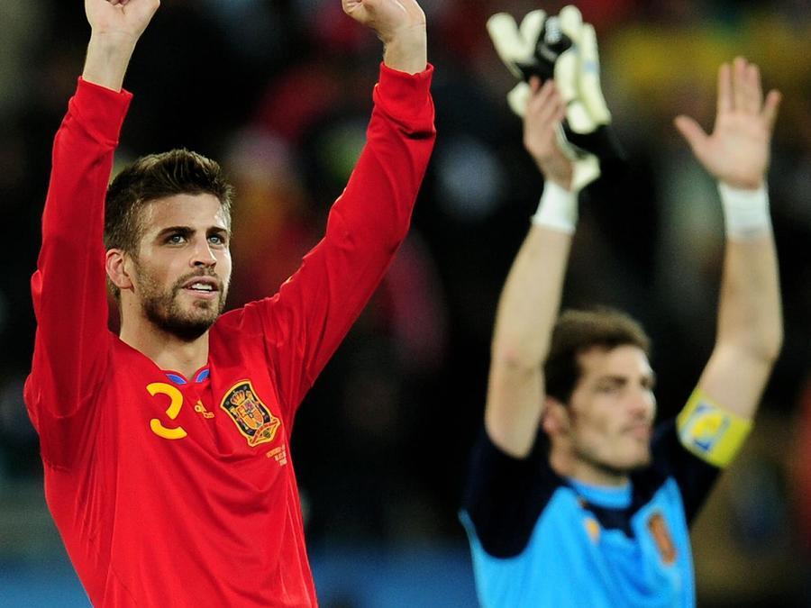 Gerard Piqué en la Selección de España