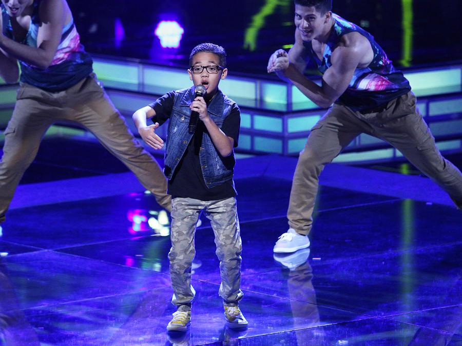 jonael santiago, tiburon, semifinal, la voz kids