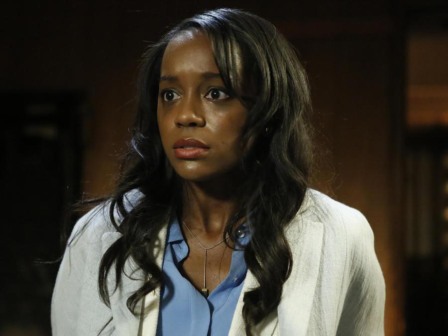"Aja Naomi King en la película de Fluency Studios ""Reversion""."