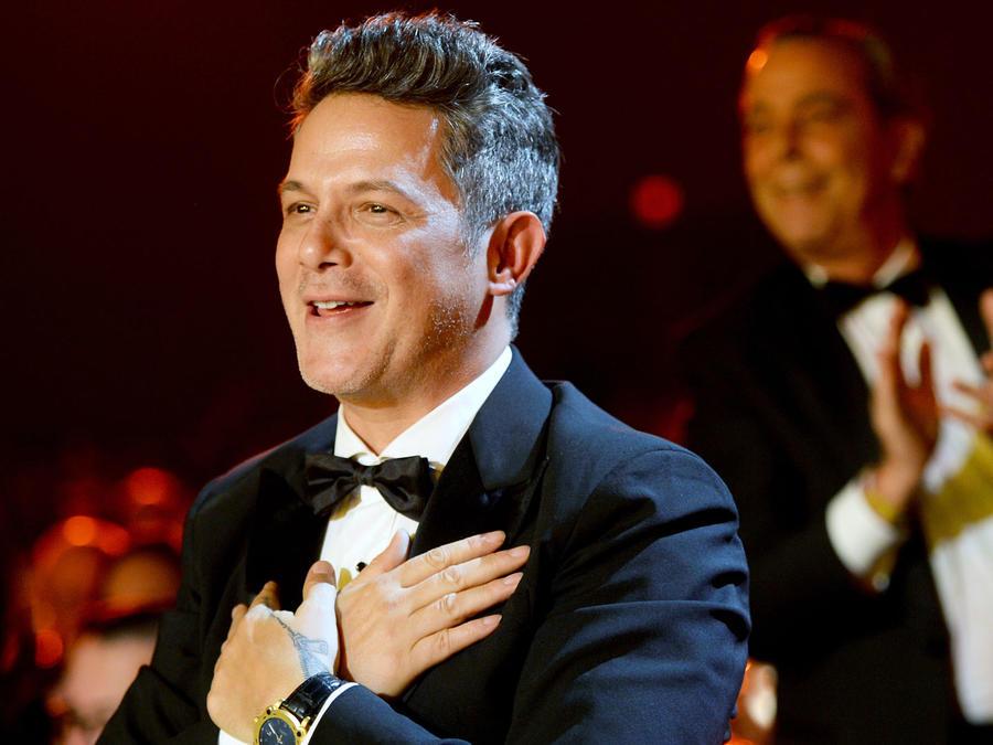 Alejandro Sanz en la gala de la Persona del Año
