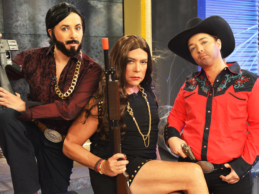 Ana Maria Canseco, Boris Izaguirre, Adamari López