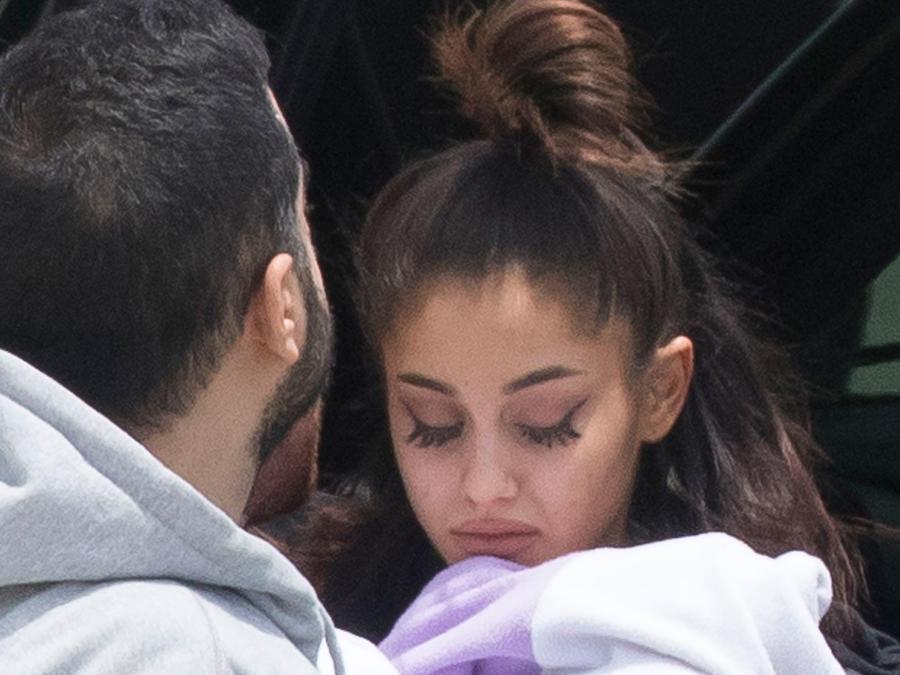 Las primeras fotos de Ariana Grande