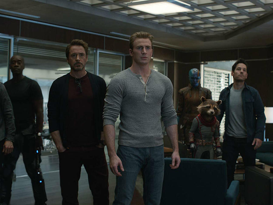 Escena de 'Avengers: Endgame'