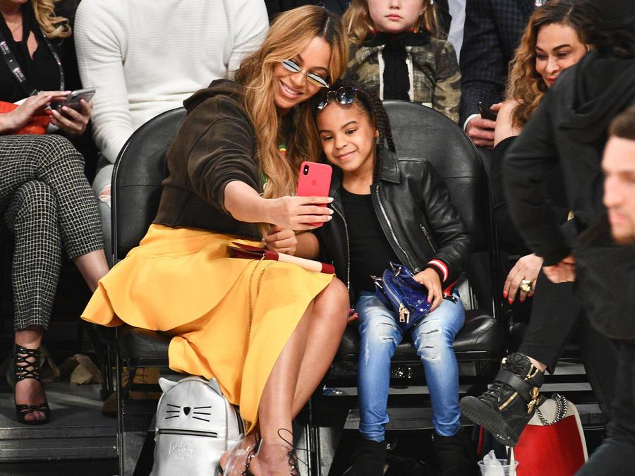 Beyoncé con Blue Ivy