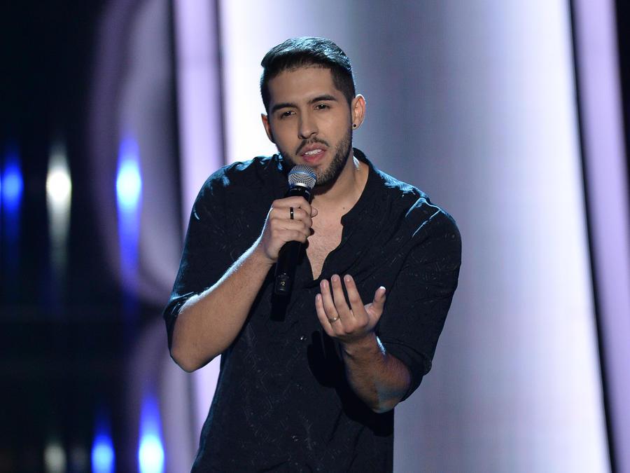 Caleb Mendez en las audiciones a ciegas de La Voz US 2