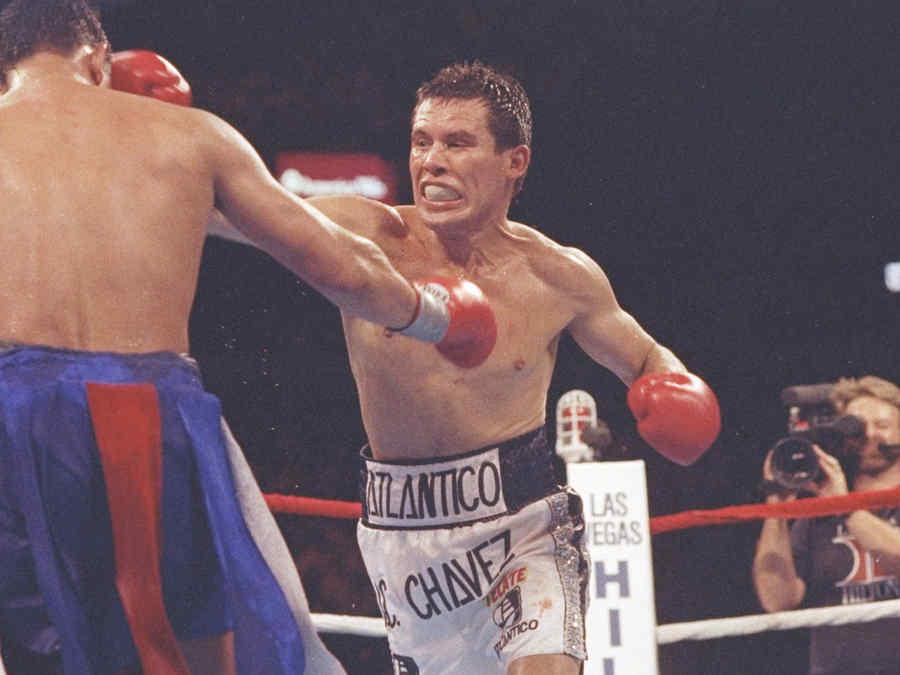 Julio C. Chavez V Hector Camacho