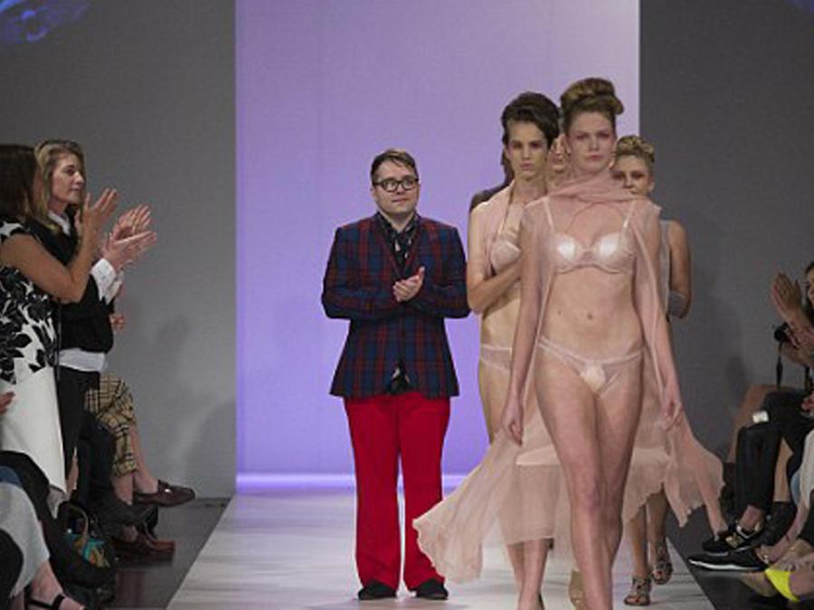 Pasarela de ContiTex, lencería para incontinencia, en la semana de la moda de Nueva Zelanda