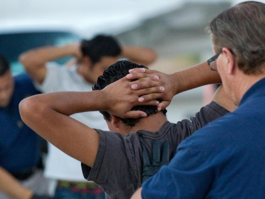 Las condiciones de los inmigrantes deportados