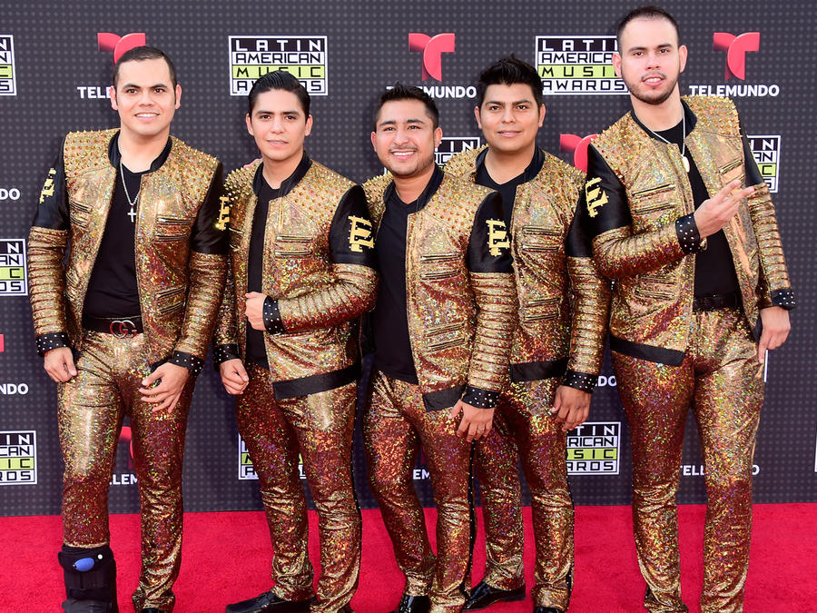 Enigma Norteño on the red carpet of the Latin American Music Awards 2015