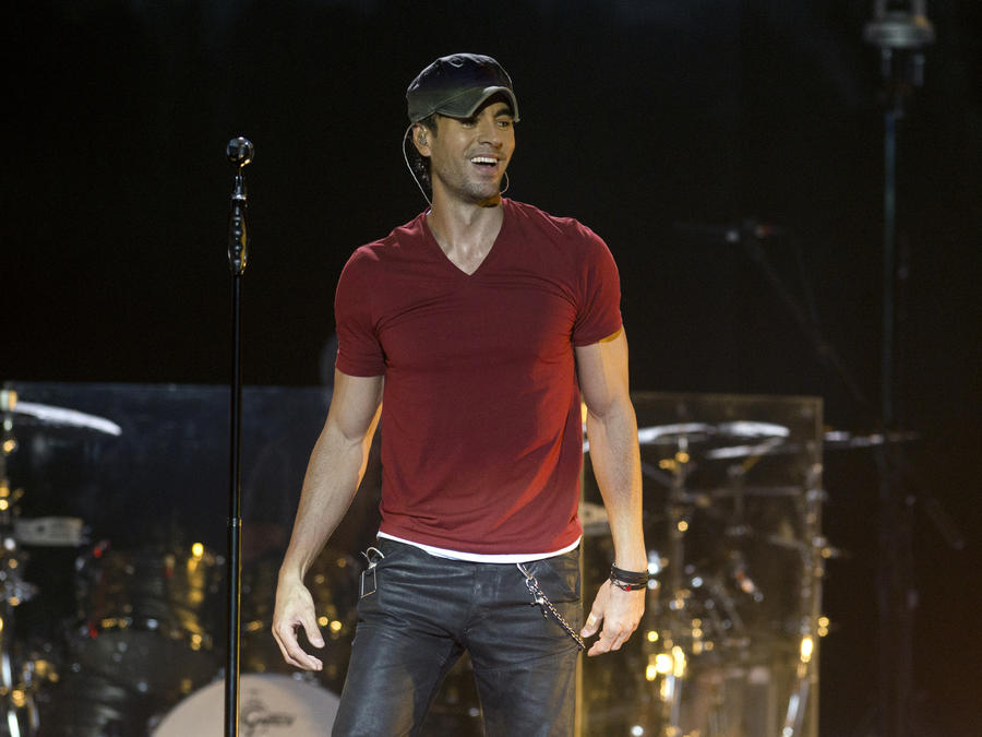 Enrique Iglesias Performs At SSE Hydro In Glasgow