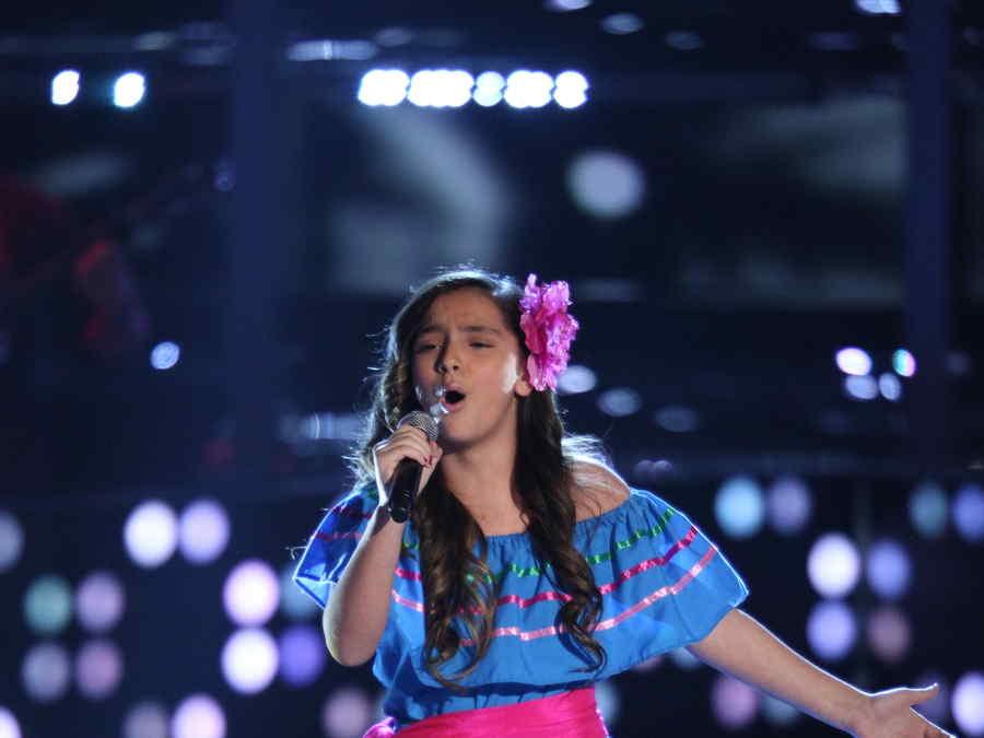 Shanty Zumaya en La Voz Kids