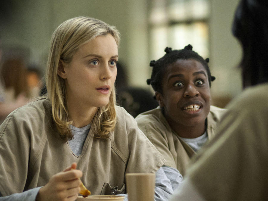 Escena de la serie Orange is the New Black