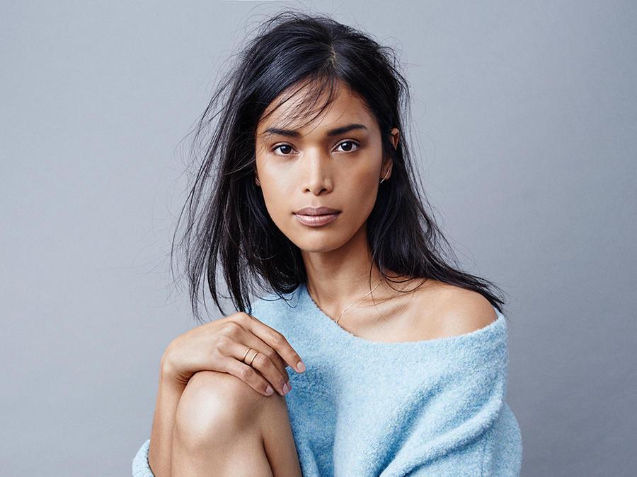 Geena Rocero modelo transgénero posa para Tom Schirmacher