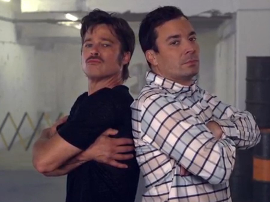 Brad Pitt vs. Jimmy Fallon en le Break Dance de Fury
