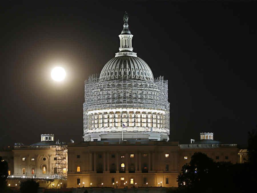 Capitolio Washington, EEUU