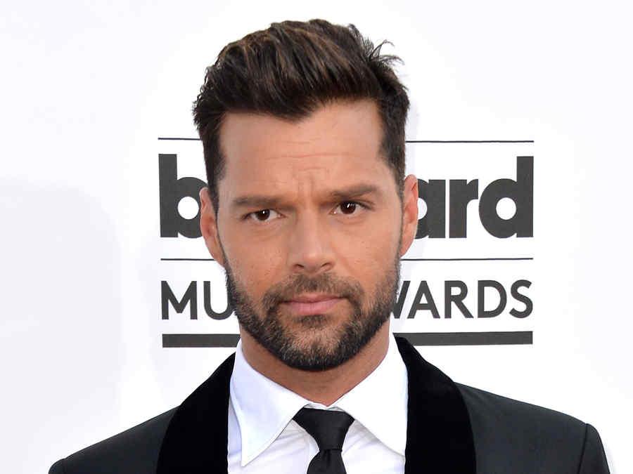 Ricky Martin en los Billboard Awards 2014.