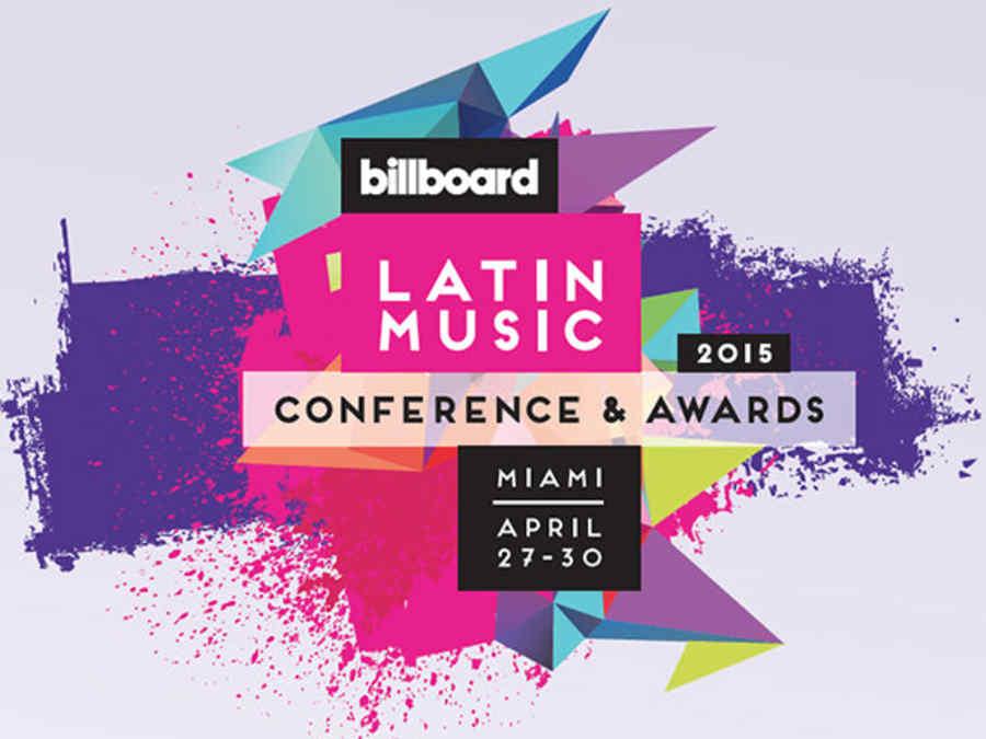 Flyer de las conferencias Billboard Latin Music