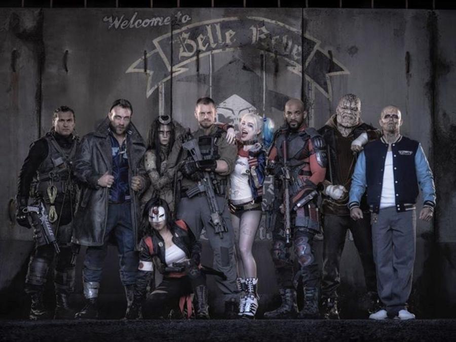 """Primera foto del elenco de la película """"Suicide Squad"""""""
