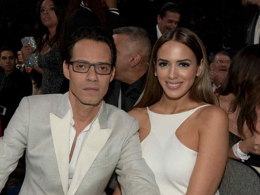 Marc Anthony y Shannon de Lima en una entrega de premios en 2015