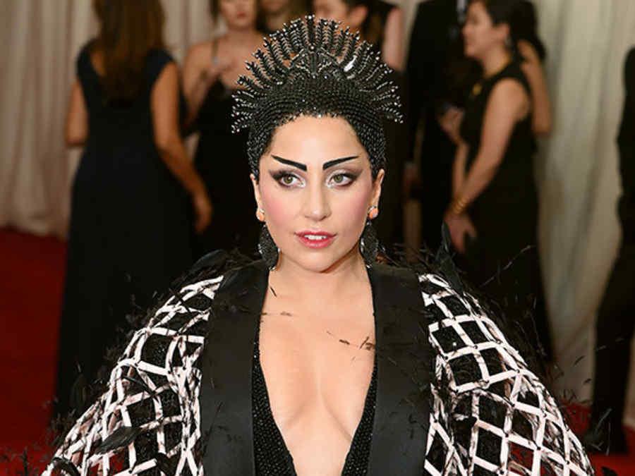 Lady Gaga en el evento MET de 2015