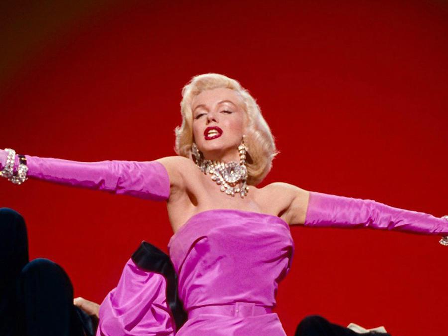 """Marilyn Monroe en """"Some Like It Hot""""."""