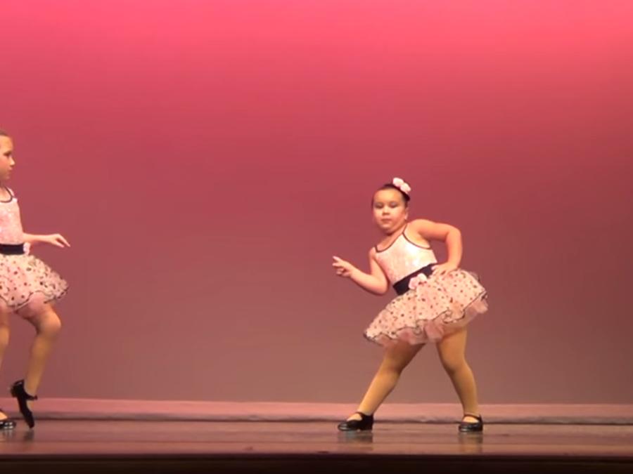 Johanna, la pequeña bailarina con mucha actitud