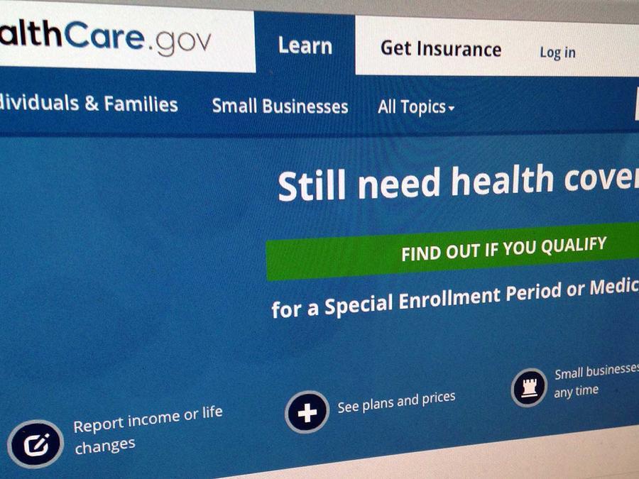 Página web para comprar seguro de salud Obamacare