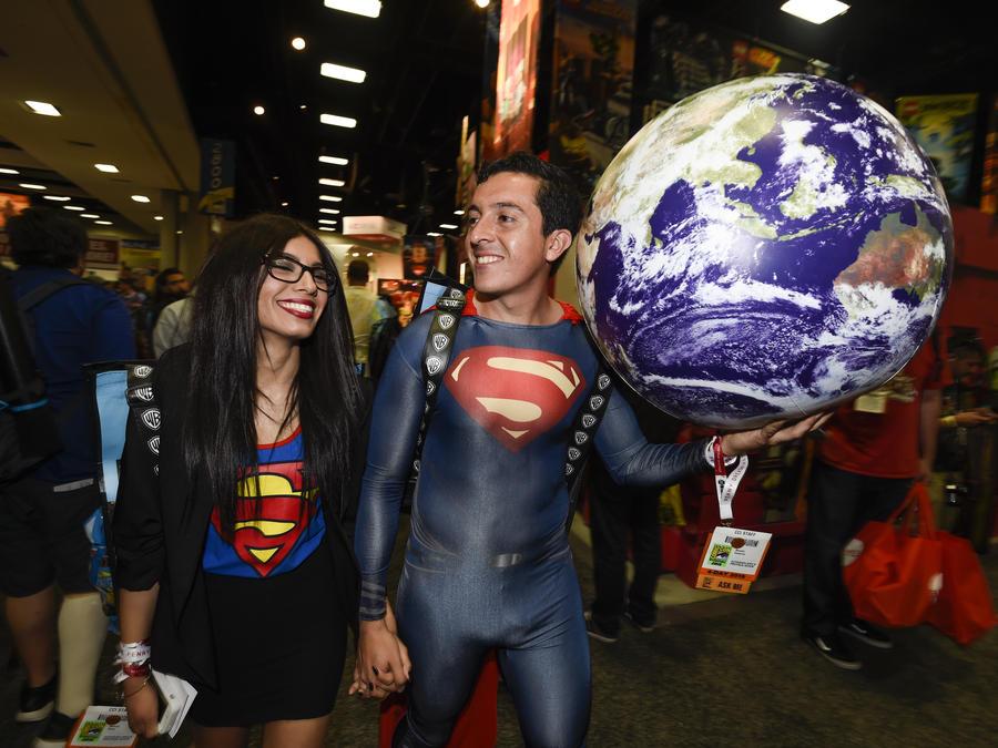 Fans de Star Wars en la noche preliminar de Comic-Con