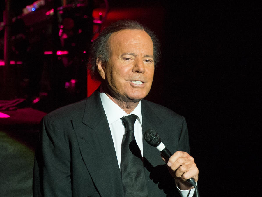 Julio Iglesias en el  Royal Albert Hall 2014