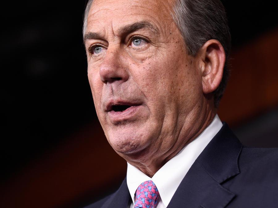 En esta foto del 29 de julio del 2015 se ve al titular de la Cámara de Representantes John Boehner en el Capitolio en Washington. Boehner, católico, recibirá al papa Francisco para un discurso histórico en el Congreso