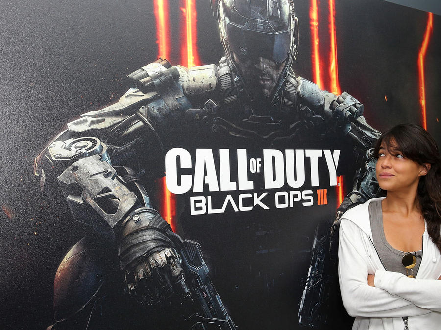 Call of Duty con Michelle Rodriguez