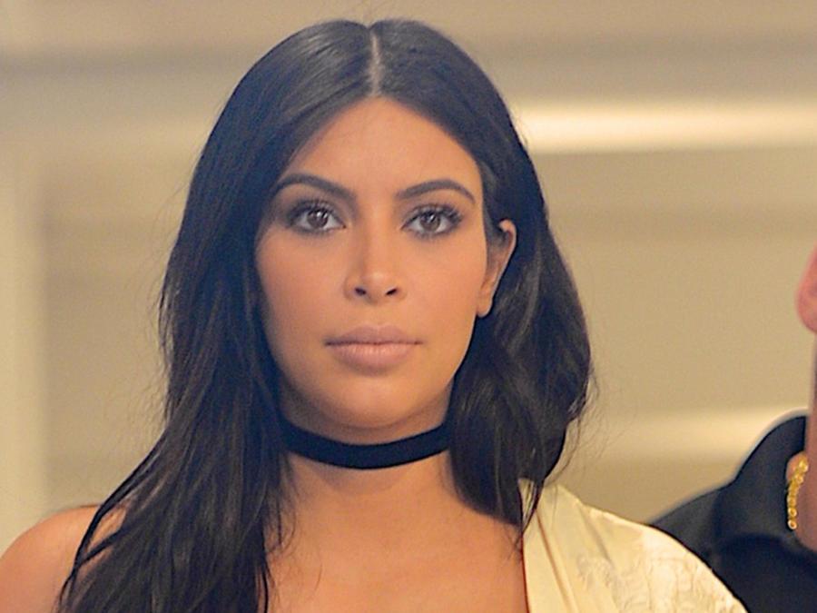 Kim Kardashian en Nueva York 2015