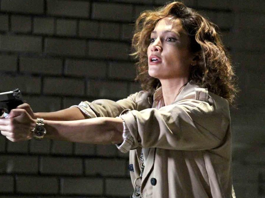 Jennifer Lopez grabado 'Shades of Blue'