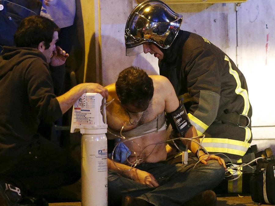 herido tras ataque terrorista en paris